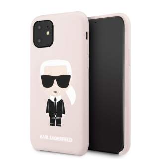 Karl Lagerfeld Silicone Case Pink Iphone 11