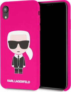 Karl Lagerfeld Body Iconic pro Apple iPhone XR fuchsia