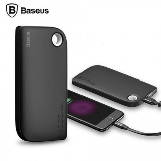 Baseus Power Bank Fan Dual output 8000 mAh Black